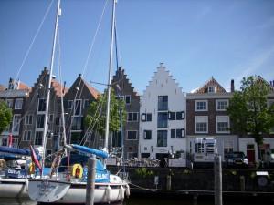 Häuserzeile in Middelborg